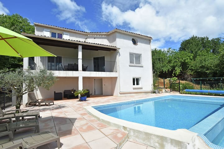 Holiday home in Courry, with private pool, covered terrace and beautiful views