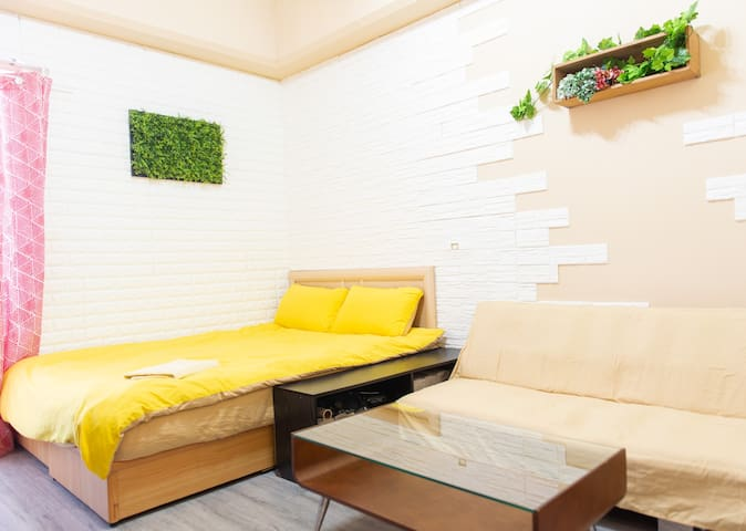 Taipei downtown studio D(MRT 3 min/2~3 persons)