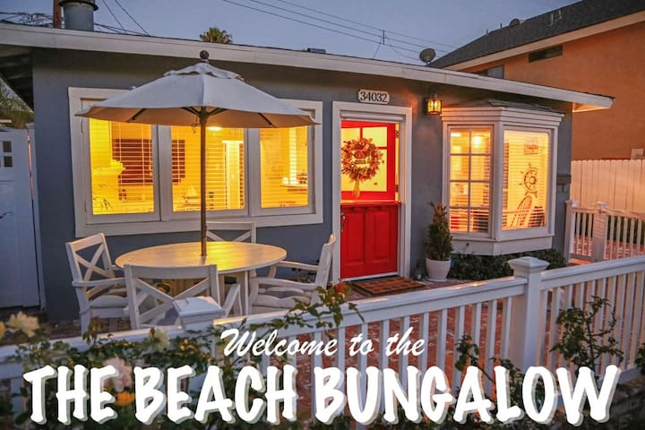 THE BEACH BUNGALOW | Walk to the Beach! - Dana Point - 방갈로