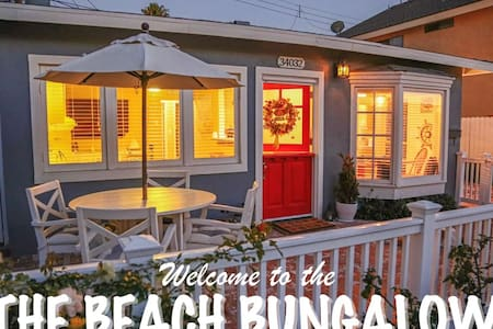 THE BEACH BUNGALOW | Walk to the Beach! - ダナポイント