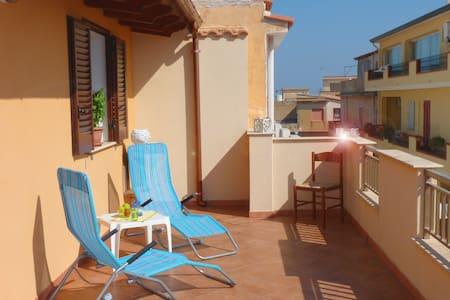 Residenza Larenza Mediterranea 2-5P - Trappeto - Квартира
