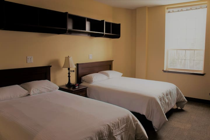 StFX Summer Hotel-Double Room With 2 Double Beds