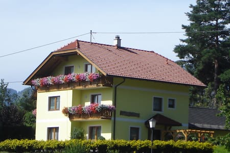 Family Appartment with lake view - Millstatt - Condomínio