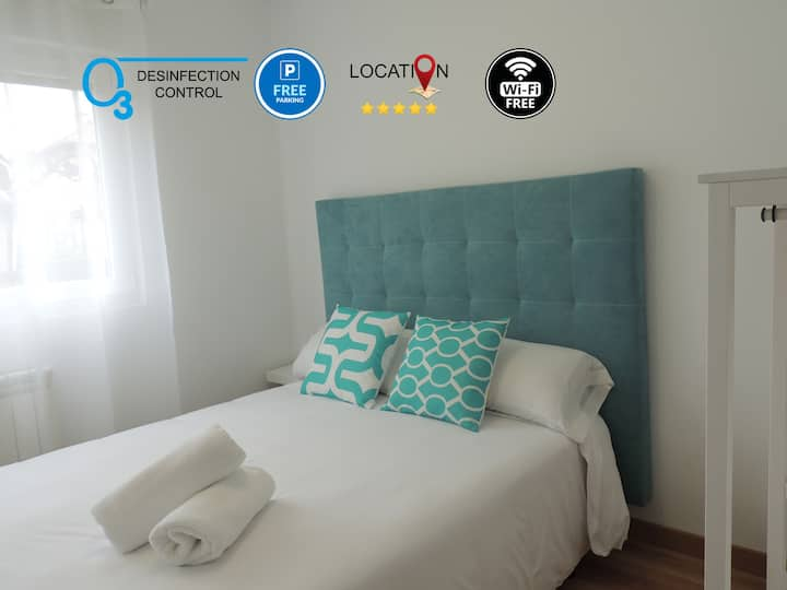 Apartment in Oviedo, Parking,Wifi and Netflix free