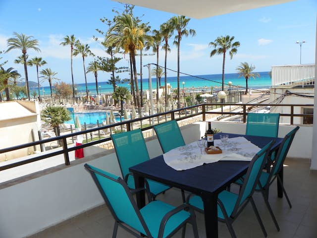 Apartment 60 m. from the beach - Cala Millor