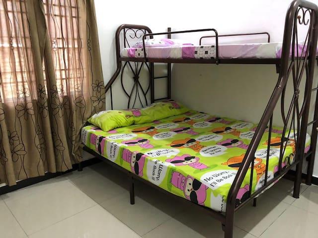 Bilik Tidur Ketiga Third Bedroom