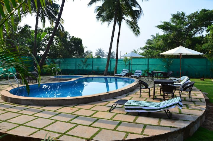 LUXURY 1 BEDROOM STAY IN THE HEART OF GOA 1
