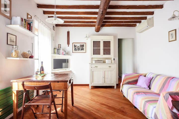 Cute apartment in the historic inn - Modena - Flat