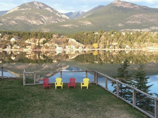 Private Lake Front Luxury - Invermere - Huis