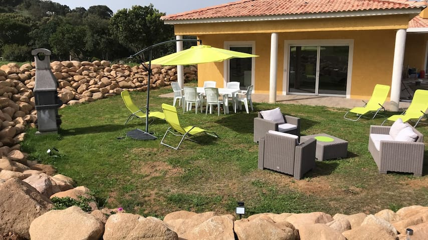Villa au calme à Sagone en Corse