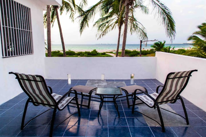 SEAGULL APARTMENT+2 BIKES+OCEAN FRONT -15%PERMONTH