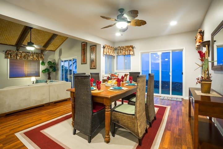 Ocean Front Villa 3 BR/3 BA