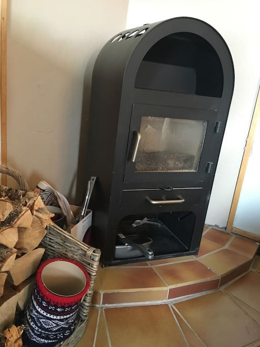 Make a fire, and feel the nordic warmth!
