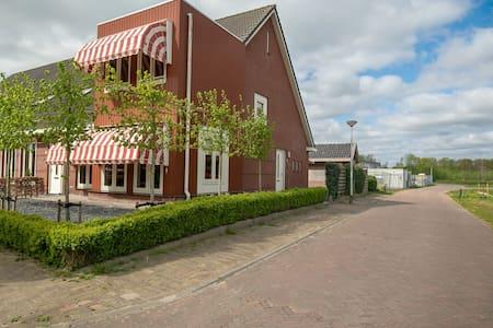 Luxe hoekwoning in Diever, loopafstand centrum.