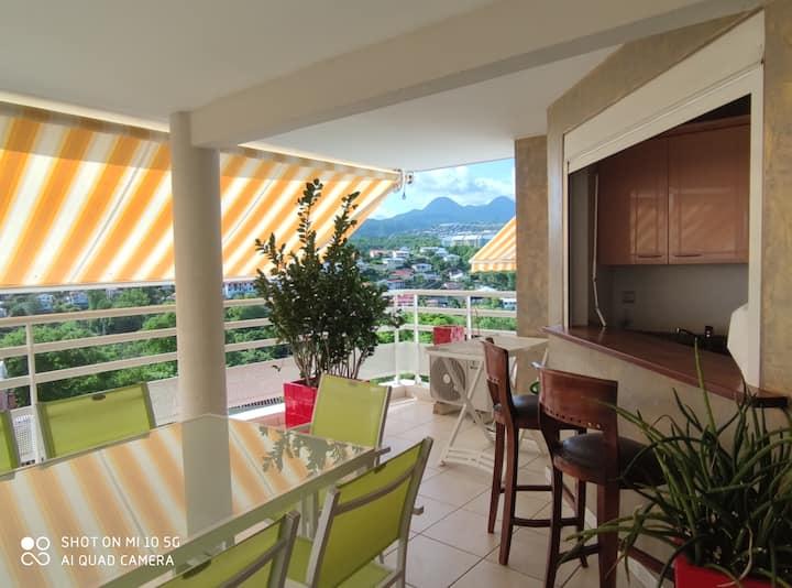Appartement vue sur mer Martinique
