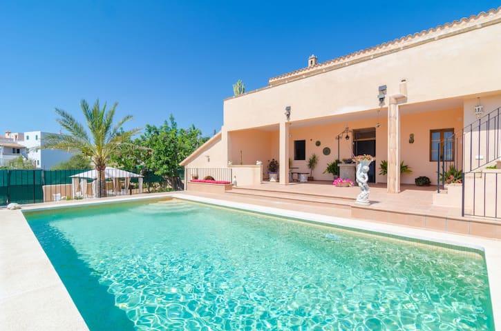 Can Trobat - Elegant house with private pool - Felanitx - Flat