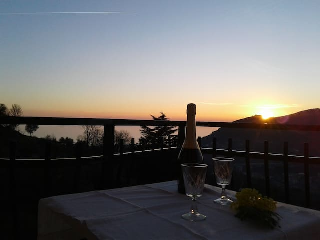 Villino Carmini - Leivi vista mare
