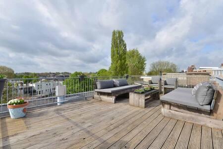 Beautiful penthouse Downtown Bikes! - Utrecht - Appartement