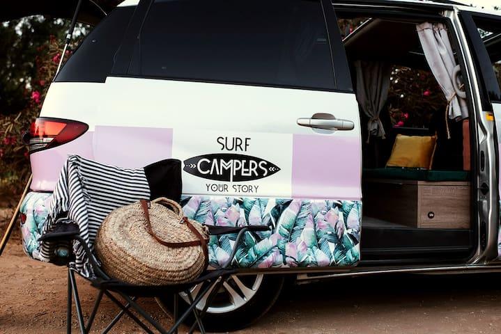 Camper van Malaga - SURFCAMPERS RV Andaluzja trip