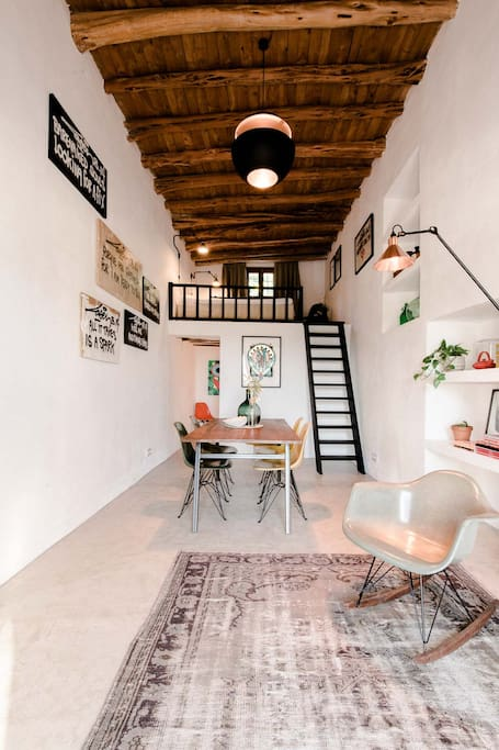 Zwillingsbett doppelbett  Ibiza Campo Guesthouse - Blockhütten zur Miete in Sant Llorenc de ...