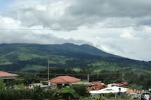 View in the way to Poas Volcano