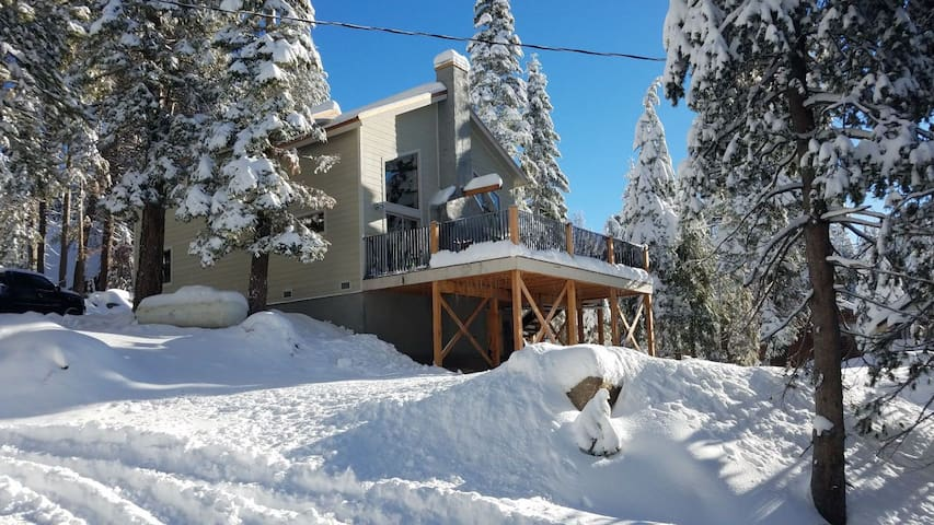 "Huntington Lake Cabin.  ""Little Tahoe"""
