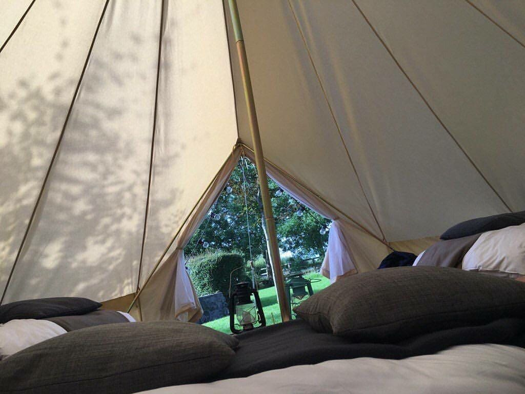 Luxury Bell Tent in an Irish Meadow - Tents for Rent in County Kilkenny County Kilkenny Ireland & Luxury Bell Tent in an Irish Meadow - Tents for Rent in County ...