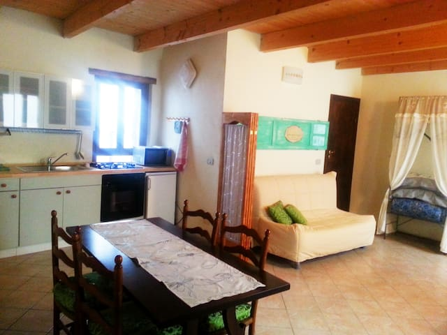 couzy flat in a fairytale Pigna - Pigna - Appartement