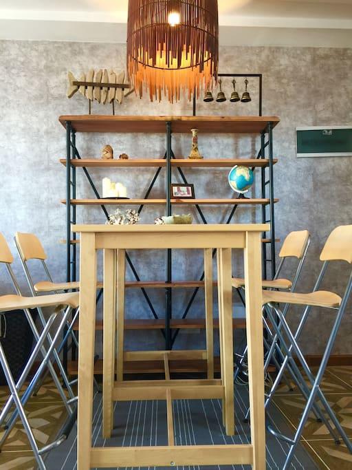 客厅-餐桌