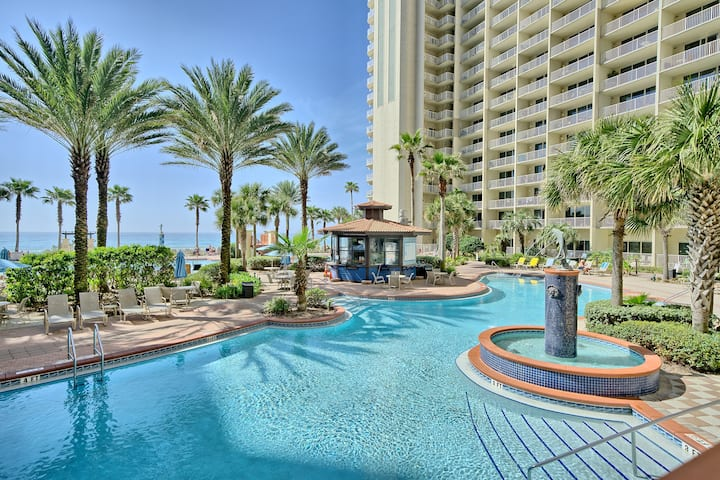 Relax on Panama City Beach! 6guests~1st floor unit