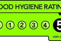 An independent rating awarded by South Oxfordshire and Vale of White Horse District Councils Food and Safety Tea, September 2019