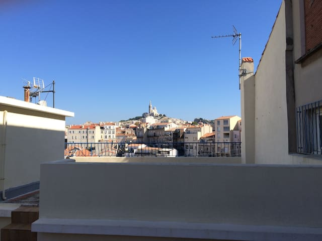 One foot in Endoume - Amazing view! - Marseille - Appartement