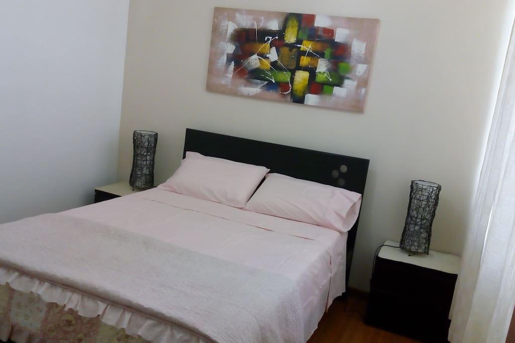 Dormitorio principal (cama 2 plz)