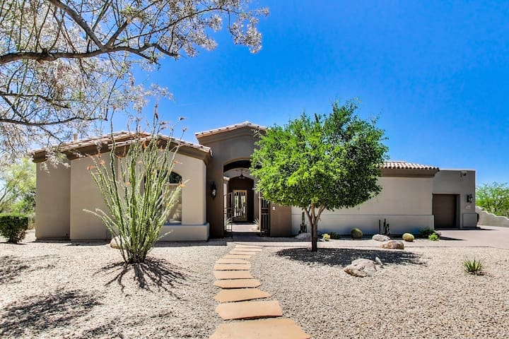 Desert Sky-Luxurious and private home in North Scottsdale.