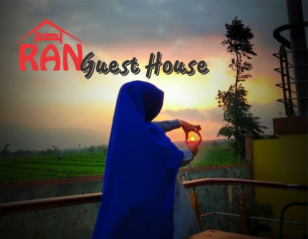 RAN Guest House View Sawah