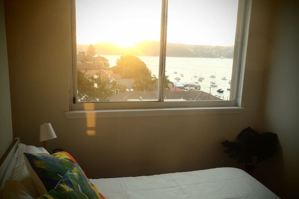 Bedroom with a view (double bed)