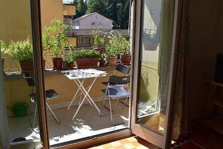 Private room in spacious flat near center - Bern