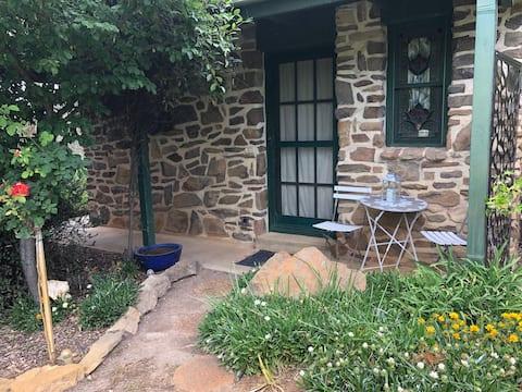 """Hillside"",   separate stone cabin, Gundaroo, NSW"