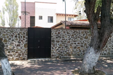 Bungalow céntrico estilo mexicano - Tequisquiapan - Loft