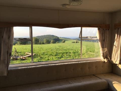 Top View Caravan,