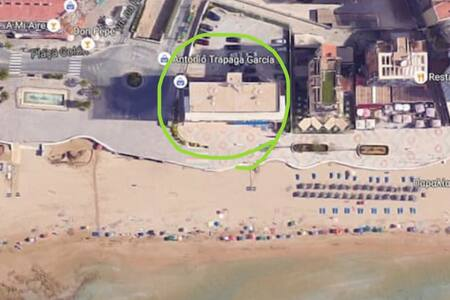 Beach apartment WITH BEST SEA VIEW! - Calp - Apartment