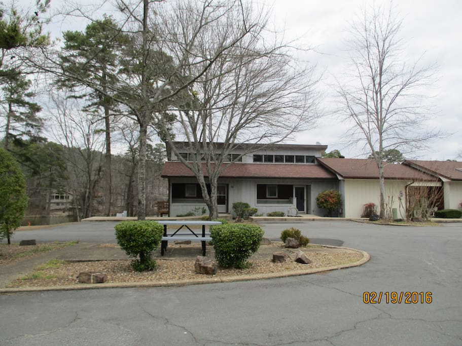 Townhouse is the second grey/blue unit