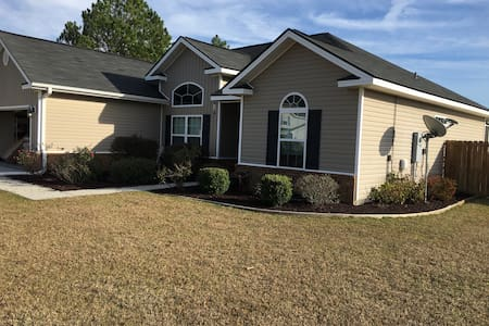 Cozy single story home with pool - Ludowici - Casa