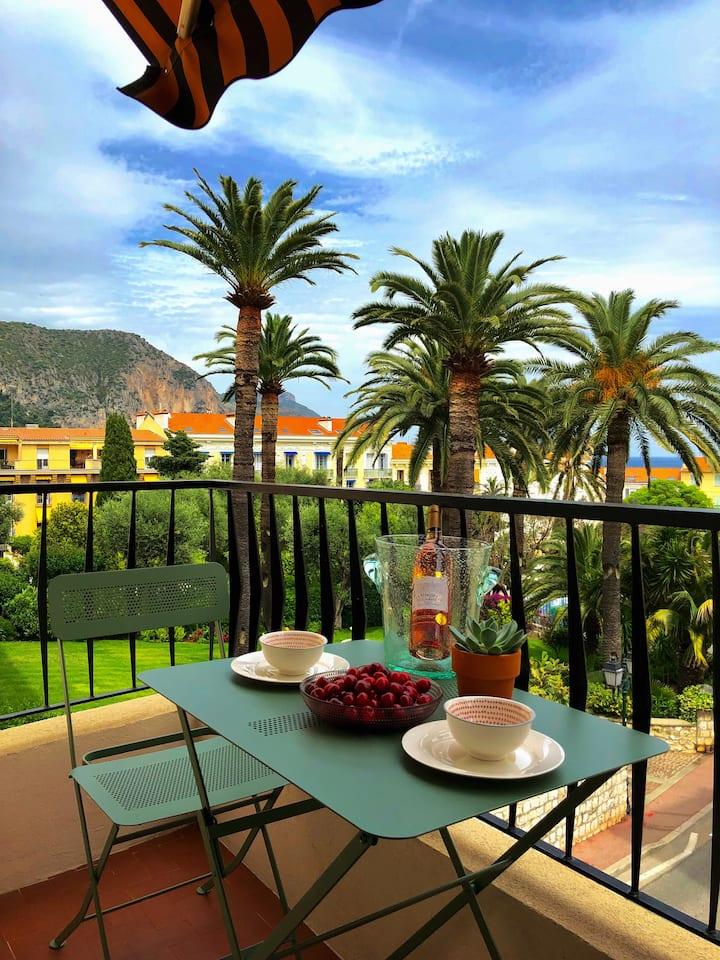 Beau studio idéalement situé entre Nice et Monaco