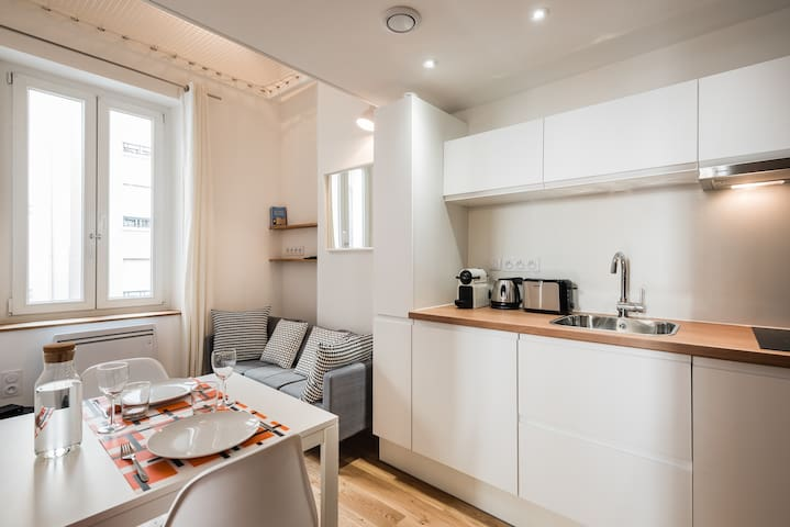 CHARMING RENOVATED DUPLEX - CONFLUENCE - Lyon - Apartmen