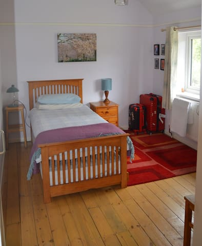 Quiet location close to hospital and train station
