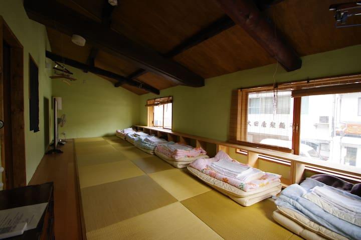 Tatami Zakone Room  畳雑魚寝部屋 山陰の旅の拠点に 旅×旅