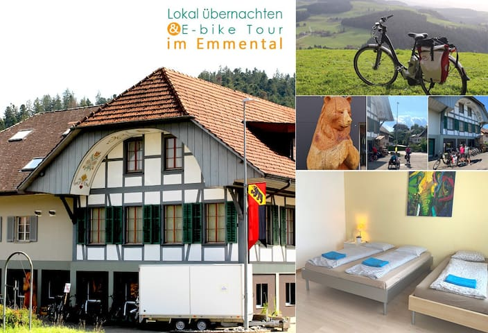 B&B in Emmental (great for E-bike tour)