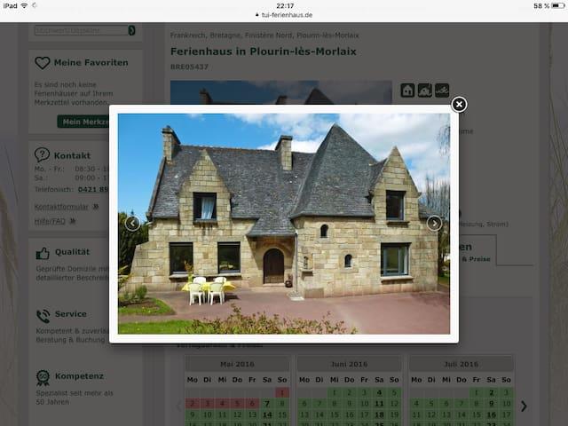 Maison tout confort trois chambres, 6 personnes - Plourin-lès-Morlaix - Maison