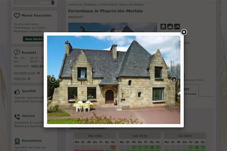 Maison tout confort trois chambres, 6 personnes - Plourin-lès-Morlaix
